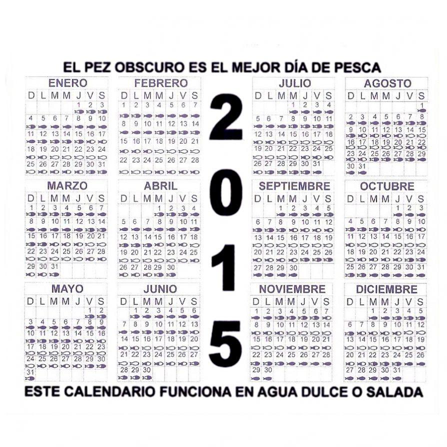 Calendario de pesca 2015